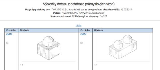 Vedle klasického hitlistu nabízí databáze obrázkovou galerii. Tuto galerii nenajdete ovšem ve všech typech databází.