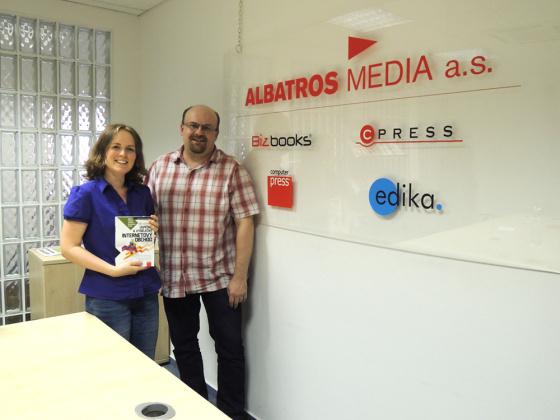 S Liborem Páclem, šéfredaktorem nakladatelství Computer Press.