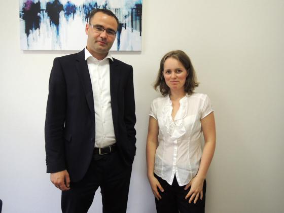 S Mgr. Pavlem Kropáčkem v kanceláři v Praze.