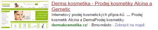 www.dermakosmetika.cz