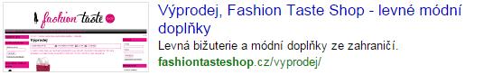 www.fashiontasteshop.cZ